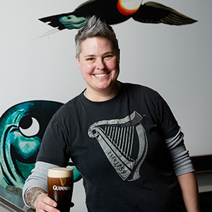 Hollie Stephenson - Head Brewer | Guinness Open Gate Brewery & Barrel House Team